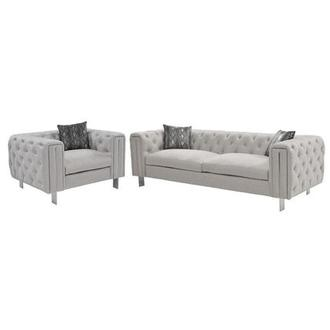 Dimitra Gray Living Room Set