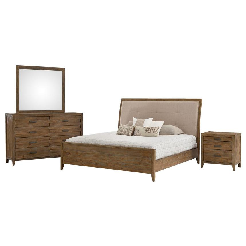 Turino 4-Piece King Bedroom Set  main image, 1 of 5 images.