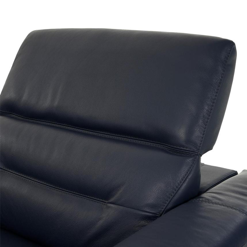 Anabel Blue Home Theater Leather Seating  alternate image, 6 of 9 images.