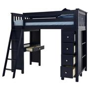 Haus Blue Twin Loft Bed  alternate image, 4 of 12 images.