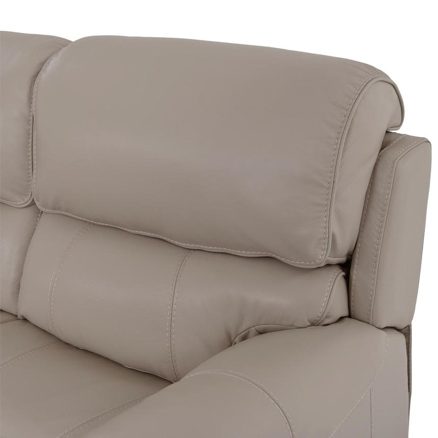 Cody Cream Leather Power Reclining Loveseat  alternate image, 7 of 11 images.
