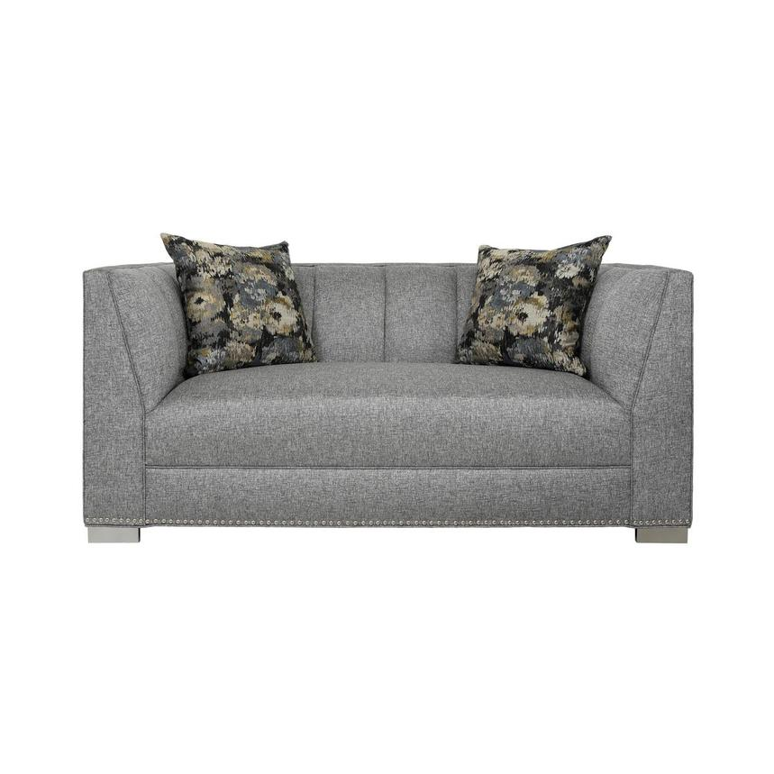 Paige Gray Loveseat  main image, 1 of 7 images.