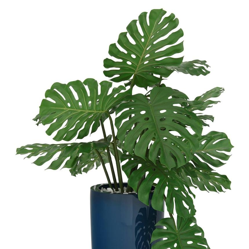 Monstera Blue Planter  alternate image, 2 of 4 images.