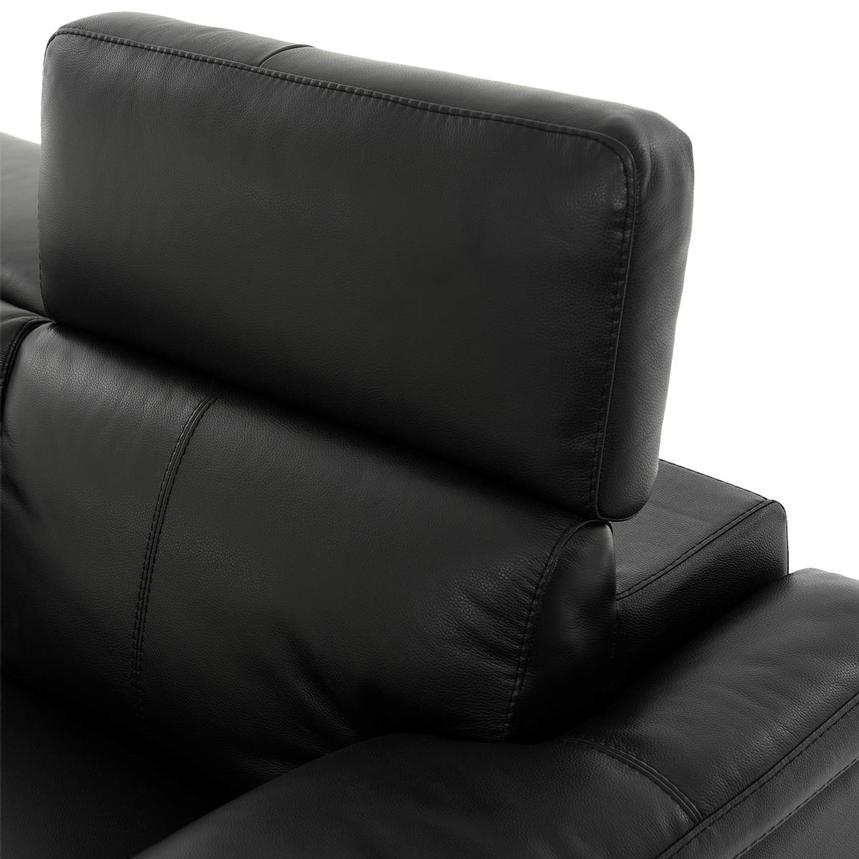 Charlie Black Leather Power Reclining Sofa  alternate image, 6 of 11 images.