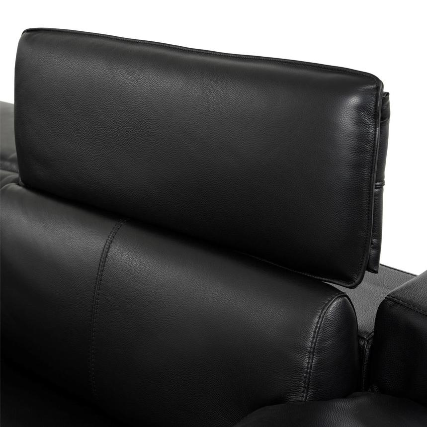 Jeremy Leather Power Reclining Sectional  alternate image, 6 of 12 images.