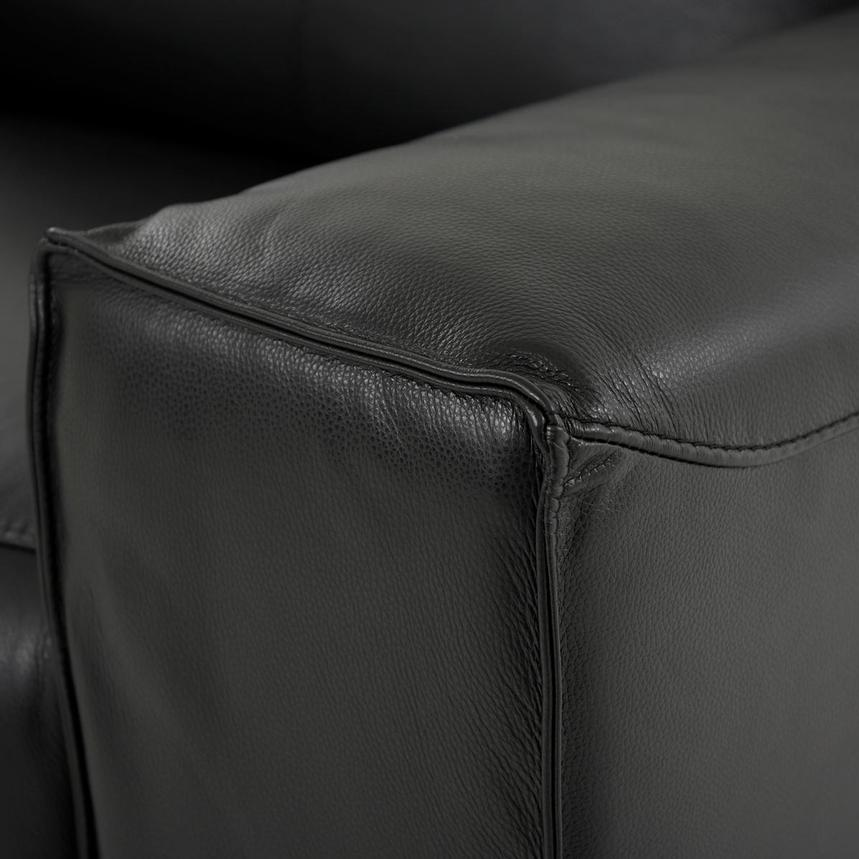 Jeremy Power Motion Leather Sofa w/Right & Left Recliners  alternate image, 7 of 10 images.