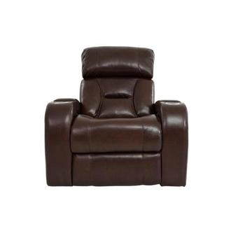 Gio Brown Power Motion Leather Recliner