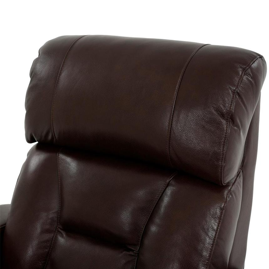 Gio Brown Leather Power Recliner  alternate image, 6 of 13 images.