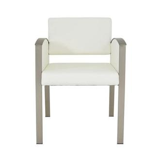 Marlon White Side Chair