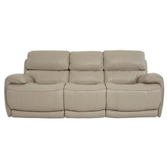 Cody Cream Power Motion Leather Sofa