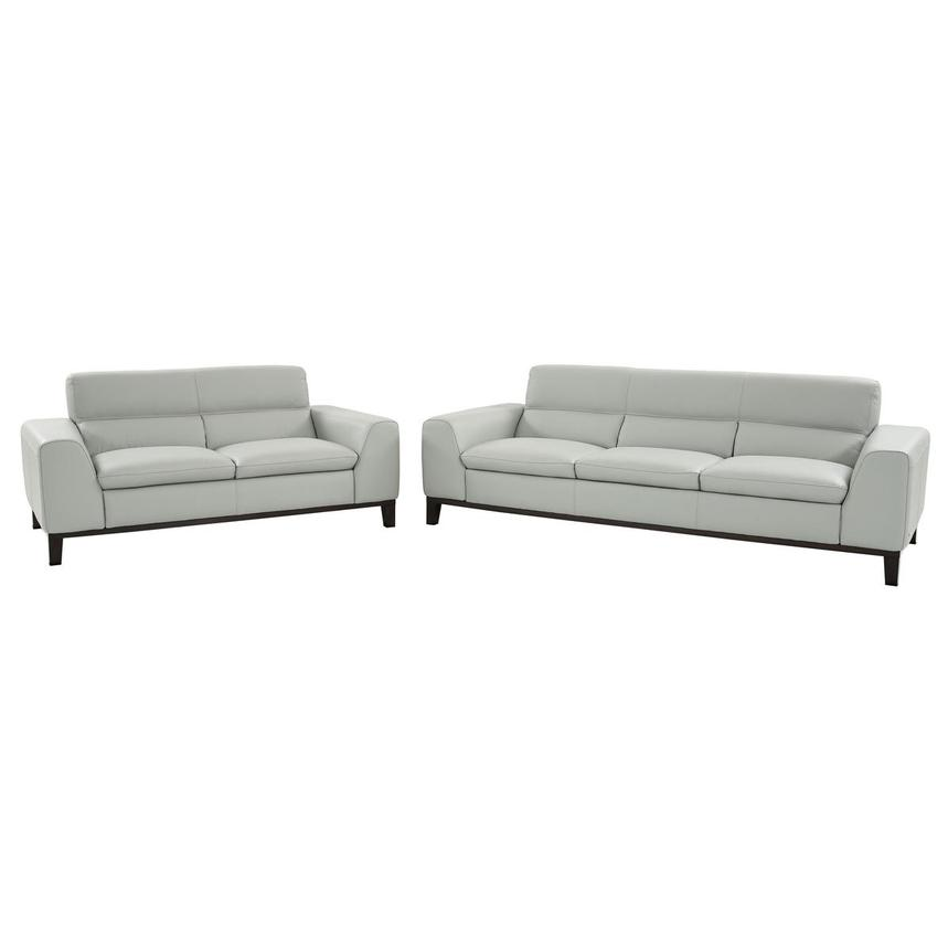 Milani Gray Living Room Set  main image, 1 of 3 images.