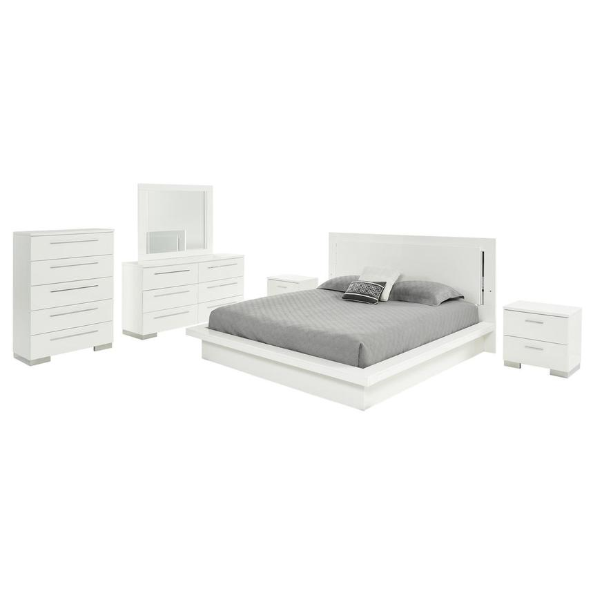 Moonstone 6-Piece Queen Bedroom Set  main image, 1 of 7 images.