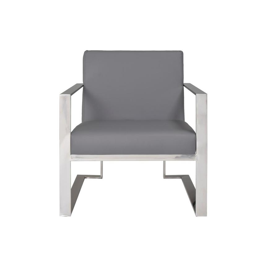 Ace Gray Accent Chair  main image, 1 of 8 images.