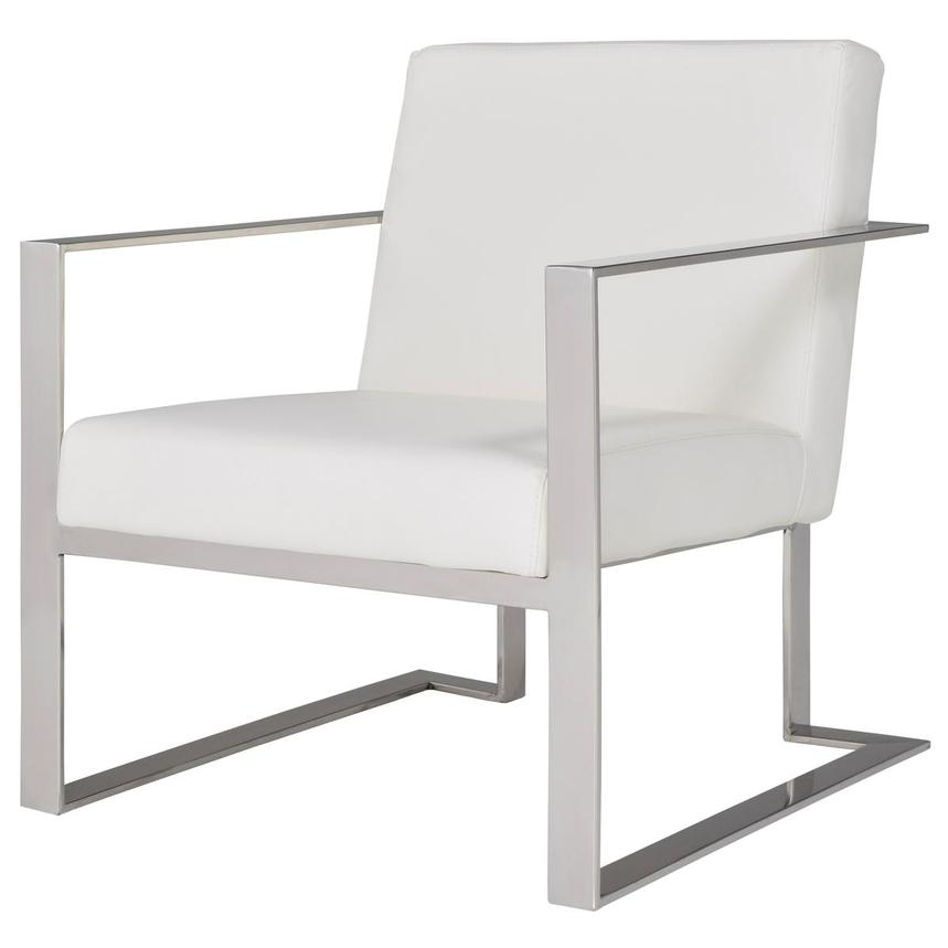 Ace White Accent Chair  alternate image, 2 of 9 images.