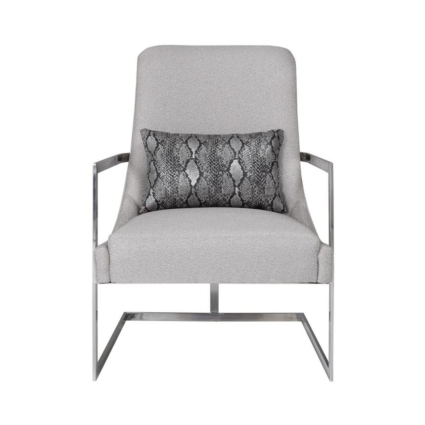 Dimitra Gray Accent Chair  main image, 1 of 8 images.