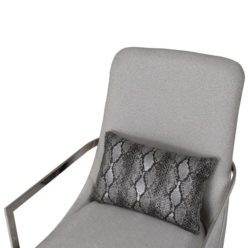 Dimitra Gray Accent Chair  alternate image, 6 of 8 images.