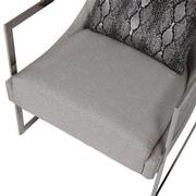 Dimitra Gray Accent Chair  alternate image, 8 of 8 images.