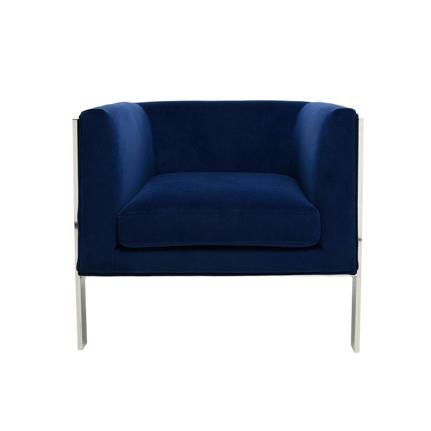 Silber Blue Accent Chair  main image, 1 of 6 images.