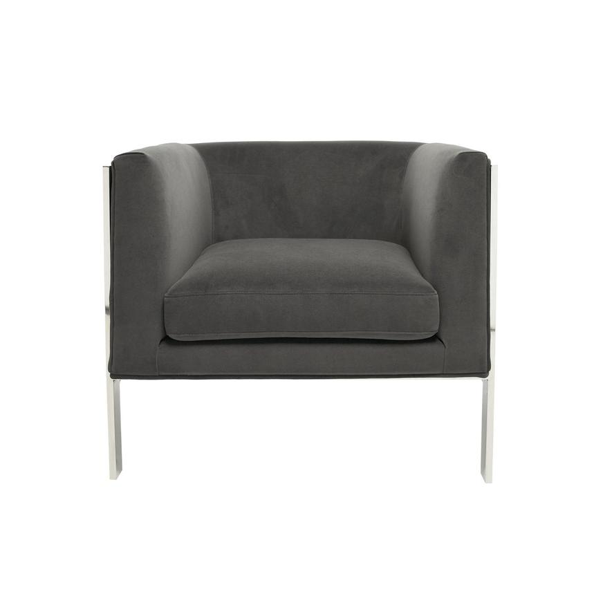 Silber Gray Accent Chair  main image, 1 of 6 images.