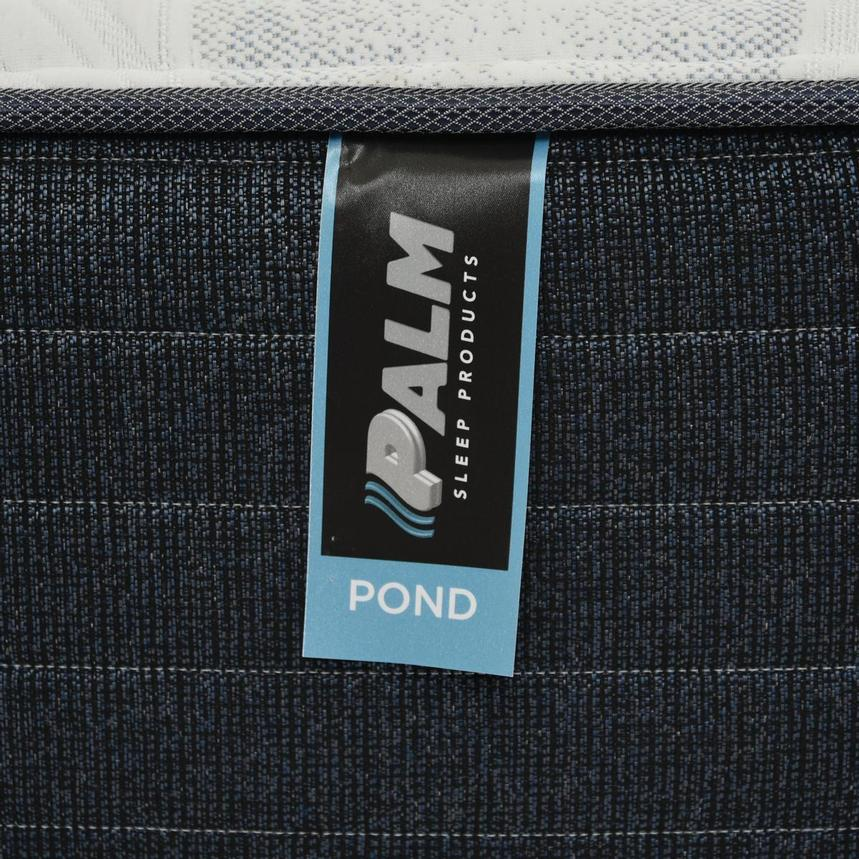 Pond King Mattress w/Low Foundation by Palm  alternate image, 4 of 5 images.