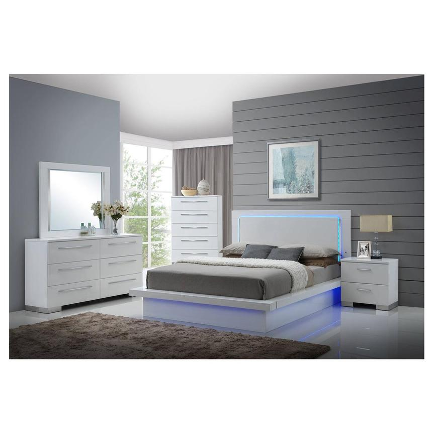 Moonstone 4-Piece Queen Bedroom Set  alternate image, 2 of 6 images.