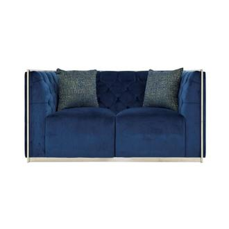 Emma Blue Loveseat