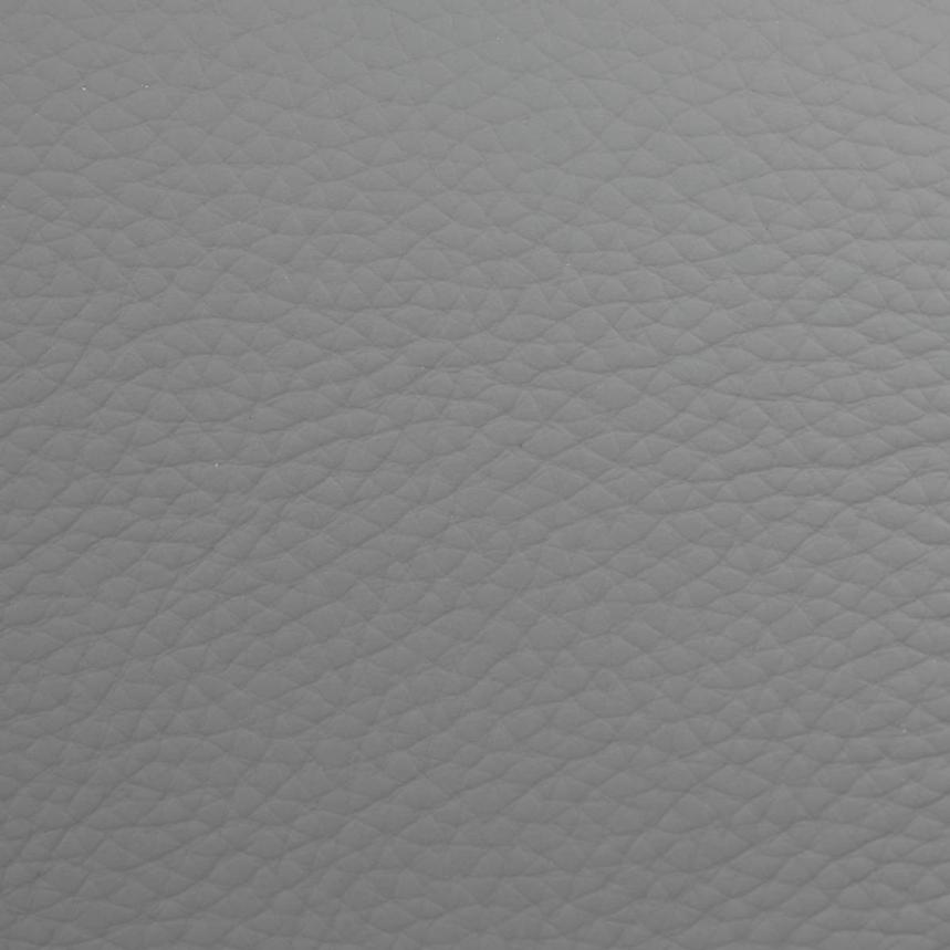 Milani Gray Leather Sofa  alternate image, 8 of 8 images.