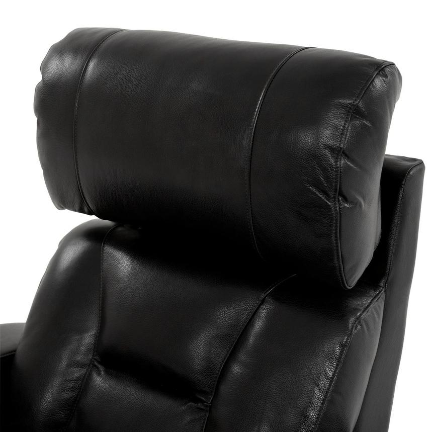 Gio Black Power Motion Leather Recliner  alternate image, 7 of 12 images.