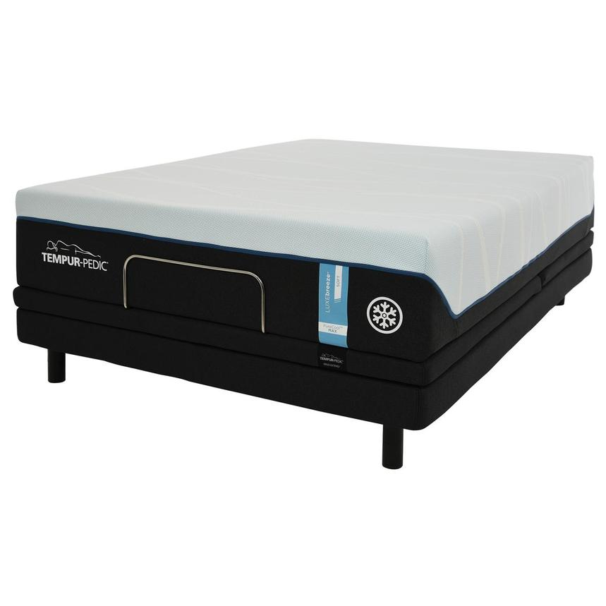 Luxe-Breeze Soft Queen Mattress w/Ergo® Extend Powered Base by Tempur-Pedic  alternate image, 3 of 7 images.