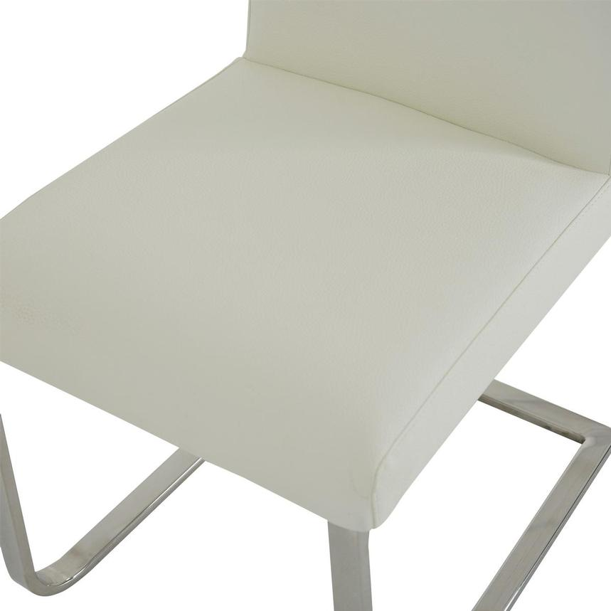 Stina White Side Chair  alternate image, 6 of 7 images.