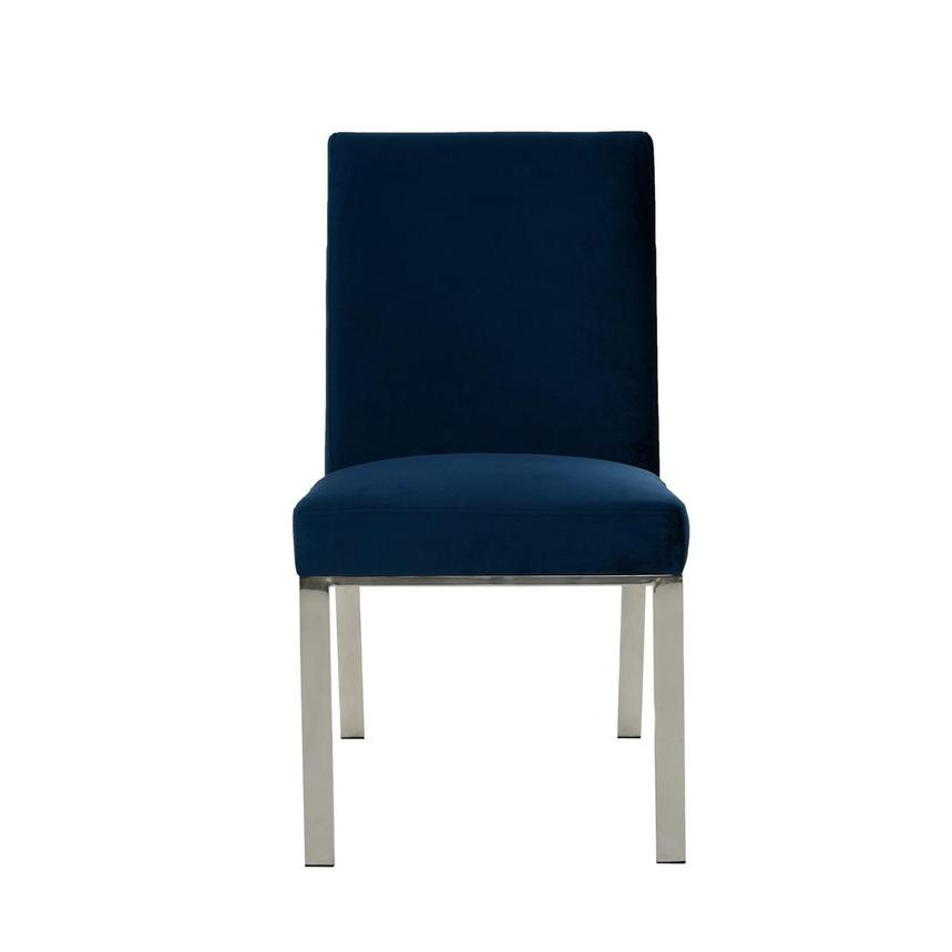 Wellington Blue Side Chair  main image, 1 of 6 images.