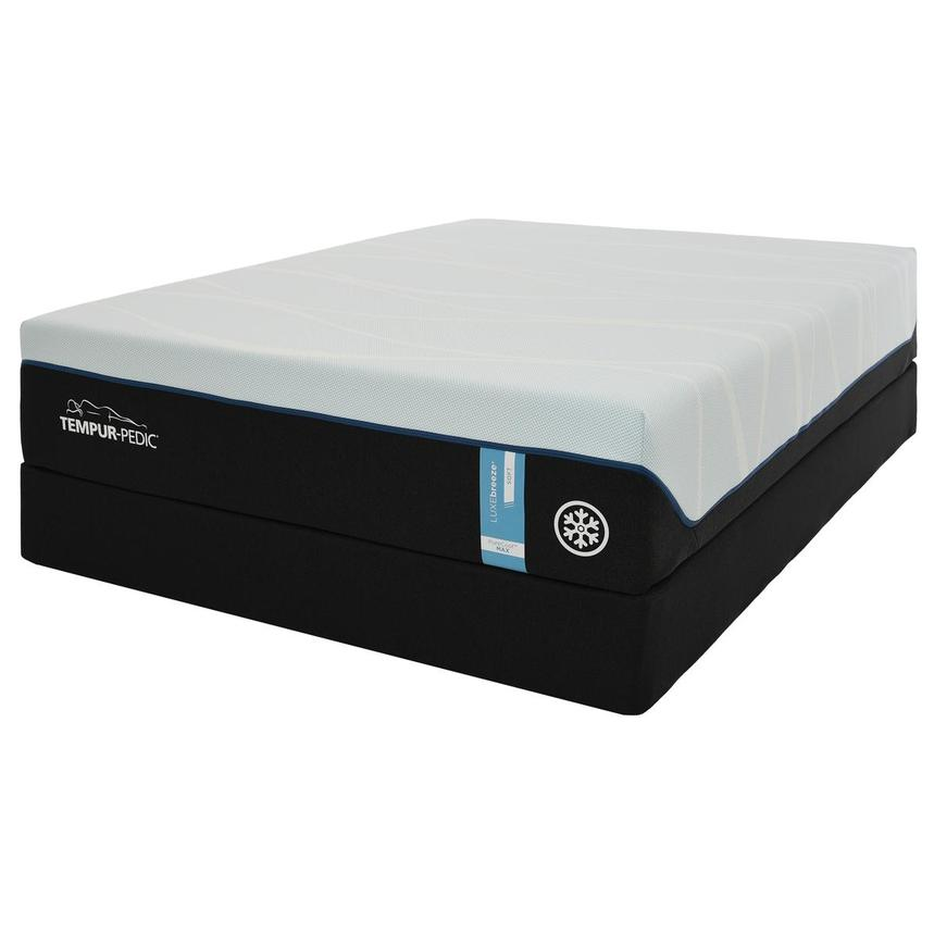 Luxe-Breeze Soft Twin XL Mattress w/Regular Foundation by Tempur-Pedic  alternate image, 3 of 6 images.