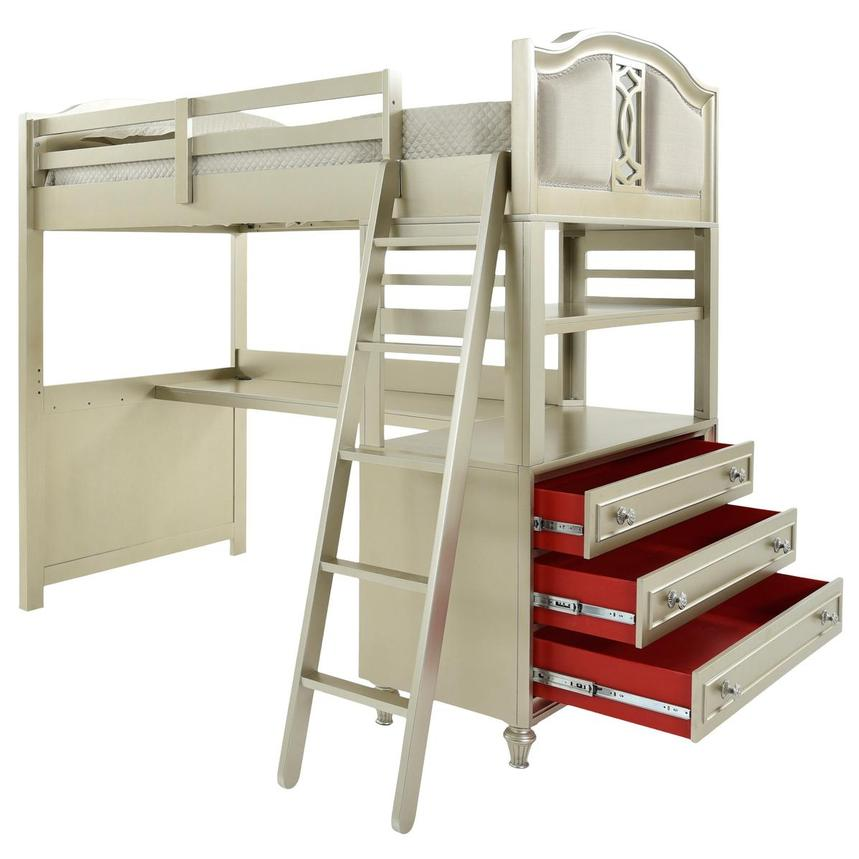 Regency Twin Over Full Bunk Bed w/Storage  alternate image, 6 of 17 images.