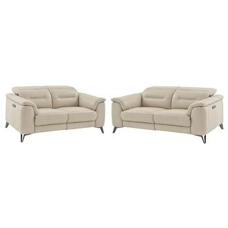 Anabel Cream Living Room Set