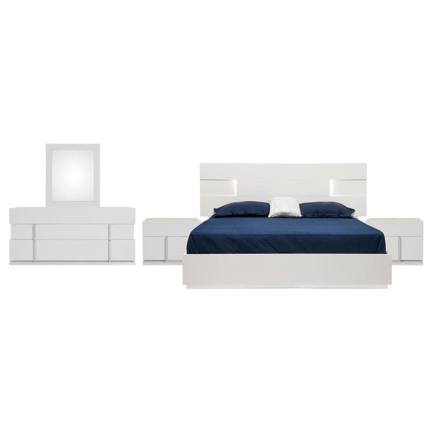 Ava 5-Piece Queen Bedroom Set Made in Italy  main image, 1 of 7 images.
