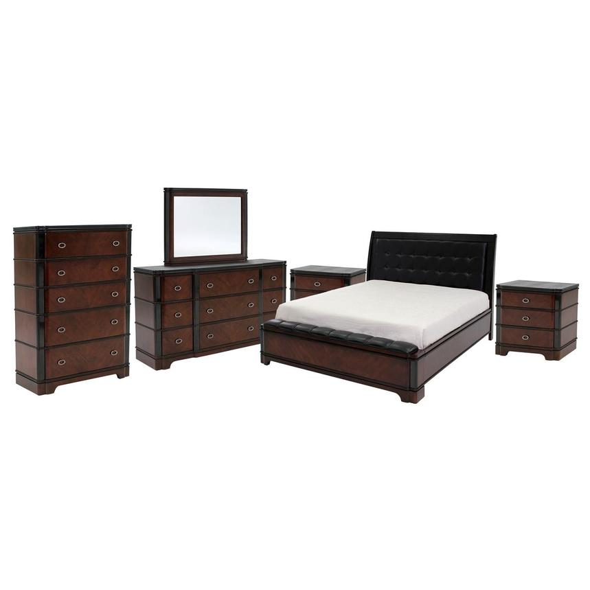 Donata 6-Piece King Bedroom Set  main image, 1 of 7 images.