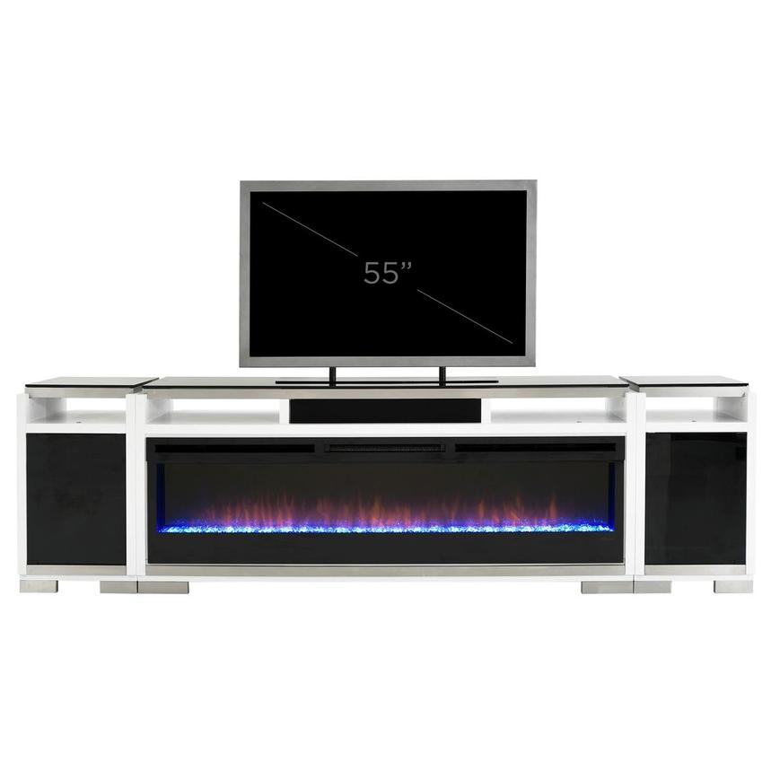 Teire Electric Fireplace w/Cabinets  alternate image, 17 of 17 images.