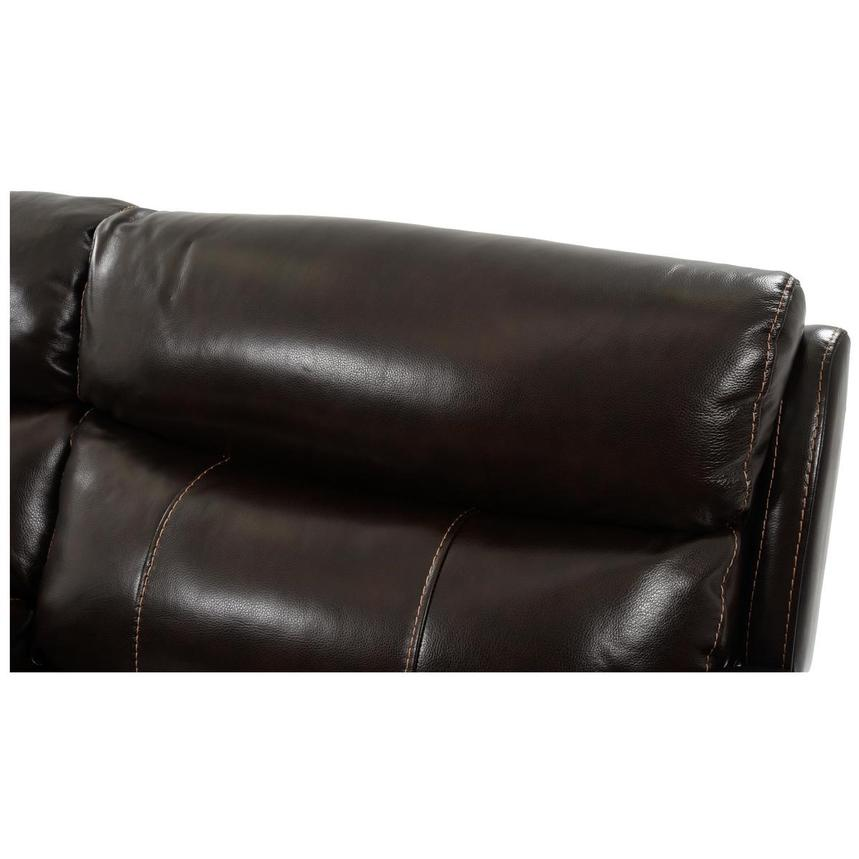 Jeremi Leather Power Reclining Sectional  alternate image, 6 of 9 images.