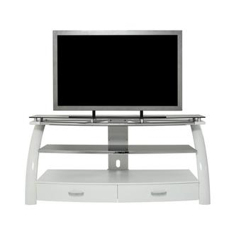 Platinum White TV Stand