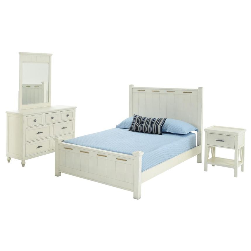 Ocean 4-Piece Full Bedroom Set