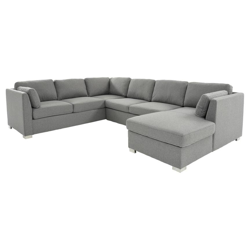 Vivian Sectional Sleeper Sofa w/Right Chaise  main image, 1 of 11 images.