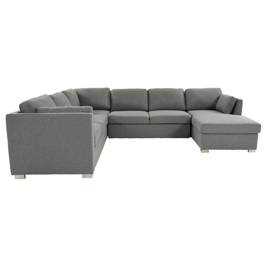Vivian Sectional Sleeper Sofa w/Right Chaise  alternate image, 4 of 11 images.