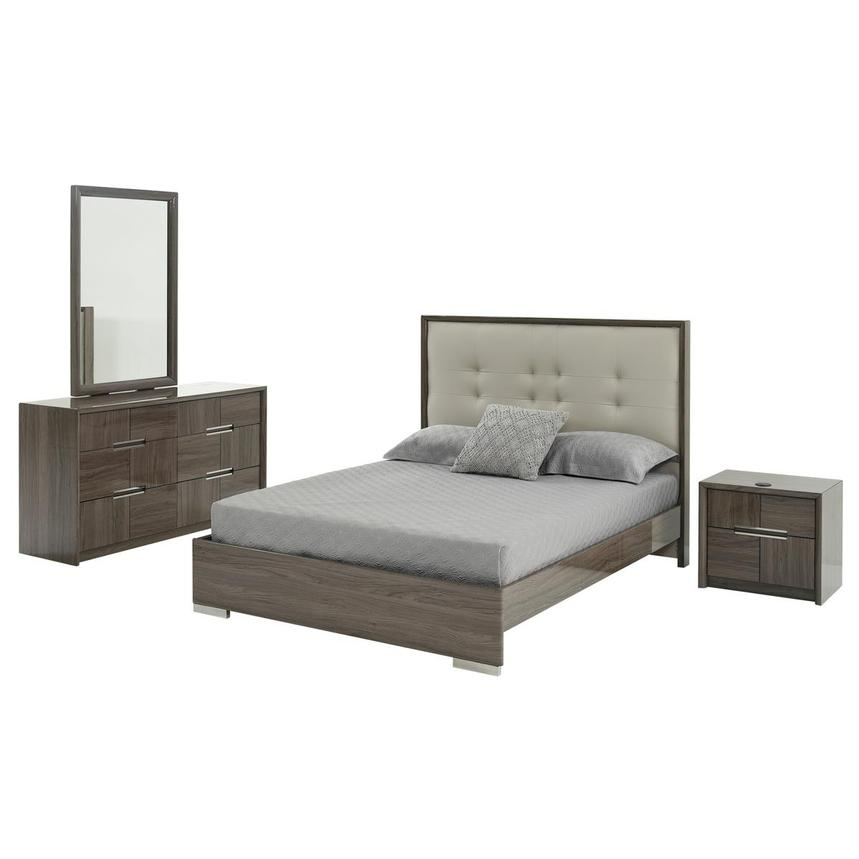Pamela 4-Piece King Bedroom Set  main image, 1 of 5 images.