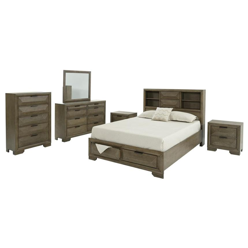 Mathew 6-Piece King Bedroom Set  main image, 1 of 7 images.