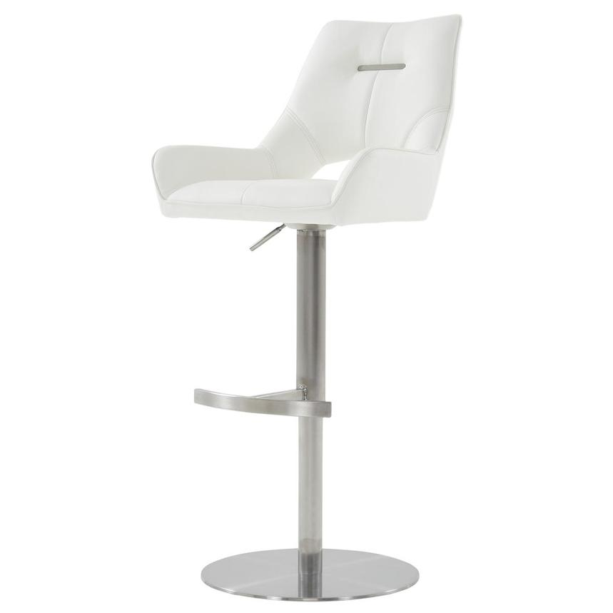 Kalia II White Adjustable Stool  alternate image, 3 of 10 images.