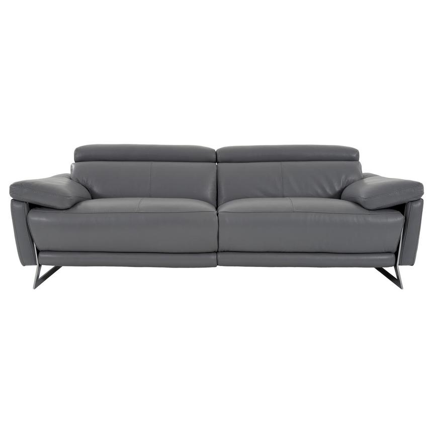 Gabrielle Leather Power Reclining Sofa  main image, 1 of 10 images.