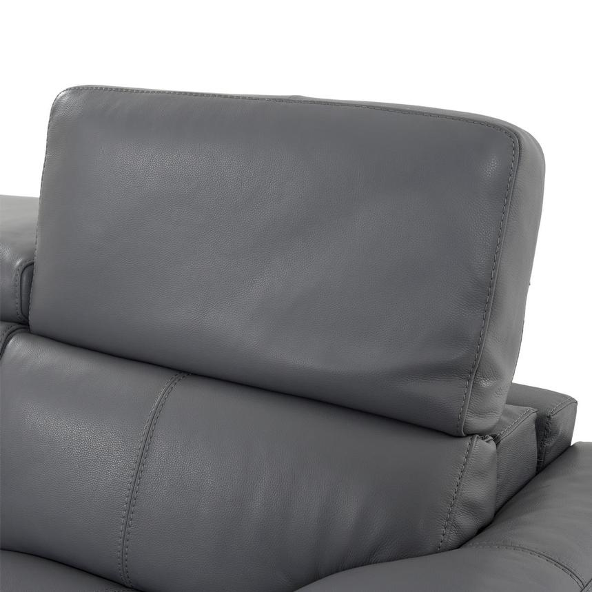 Gabrielle Leather Power Reclining Sofa  alternate image, 6 of 10 images.