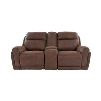 Murphy Power Reclining Sofa w/Console