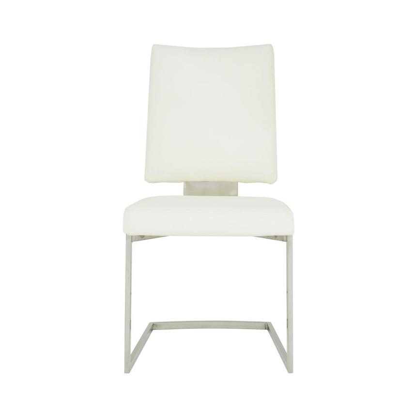 Sveva White Side Chair  main image, 1 of 6 images.
