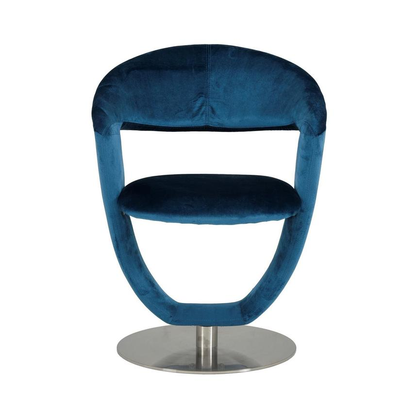 Clarisse Blue Side Chair  main image, 1 of 7 images.